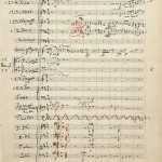 Autograph manuscript of nine symphonies
