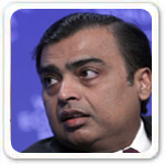 First Richest Mukesh Ambani