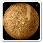 Mercury Plant of Solar System