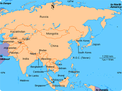 Which Is The Largest Continent In The World Information Of The World - What is the largest continent
