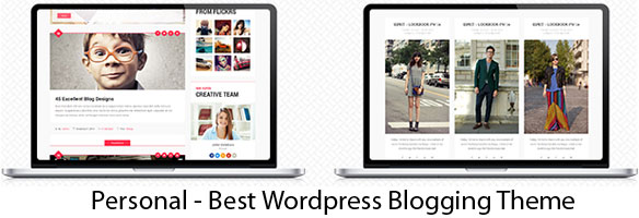 Personal - Best WordPress Blogging Theme